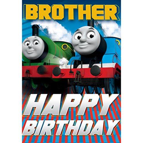 Thomas the Tank Engine Brother Happy Birthday Karte (Tank Supplies The Thomas Engine Party)