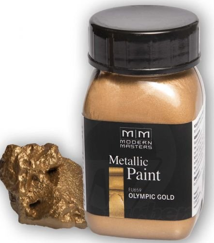 olympic-gold Metallic Paint 946ml Modern Masters -