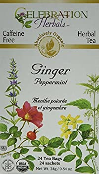 CELEBRATION HERBALS, Ginger Peppermint Tea Organic, 24 BAG