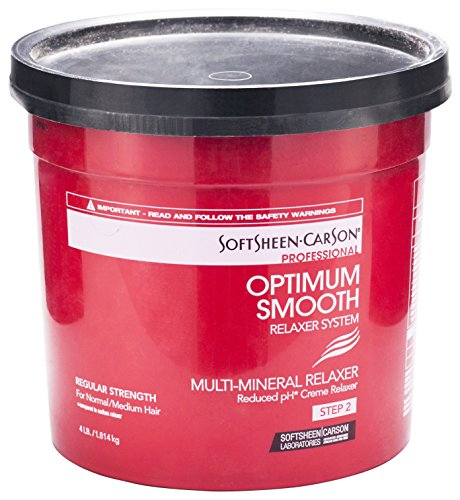 Professional Creme Relaxer (Softsheen-Carson Optimum Multi-Mineral Reduced pH Creme Relaxer Step 2 Regular 1814g)