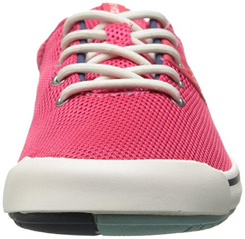 Helly Hansen W Scurry Lo, Chaussures de Sport Femme Rouge (145 magenta / acier profond / écru)