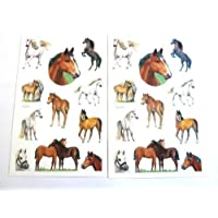 Horse & Pony - Kids / Childrens Labels for party bags , scrap books , card making or notebook decoration