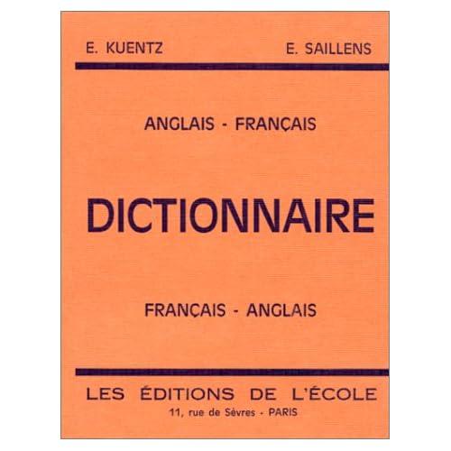 Dictionnaire anglais-français et français-anglais : 4e, 3e
