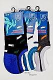Worthy Shoppee Men|Women Cotton Loafer Socks,Ankle Socks Pack Of 2 (Multicolored)
