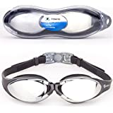 # 1 Rated Swim Goggles On Amazon UK - Anti-Fog And Watertight With Crystal Clear Vision - Comfortable Fit, UV Protection Swimming Goggle For Kids 10+, Men And Women