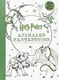 Harry Potter. Animales Fantásticos. Mini Libro Para Colorea