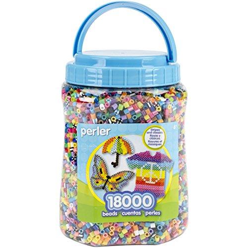 Perler Kunststoff Fun Fusion Bead Jar 18.000kg Multicolor