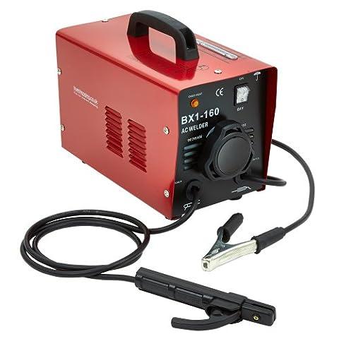 NEW TRUESHOPPING® INDUSTRIAL ARC WELDER WELDING MACHINE 160 AMP WITH