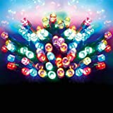 Premier Multi Coloured 200 Led Christmas Lights Supabrights, Meterial, Multicolor
