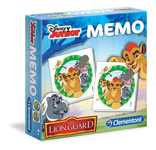 Clementoni - 13955.2 - Mémoire jeu - La Garde du Roi Lion