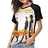 Photo de MeiShop Custom Raglan Short Sleeve T Shirts Tee Hanson Middle of Everywhere Womens Creative Print T-Shirt T-Shirts Courts pour Les Femmes par MeiShop