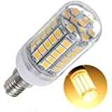 E14 59 5050 SMD LED 5.5W 600LM Energy Saving Light Lampe Bulb 220V blanc chaud lumiere maison 3500K