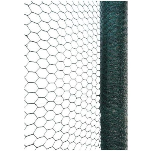 Green Blade BB-CW116 10 x 0.9m PVC Coated Galvanized Wire Netting with 25mm Mesh Test
