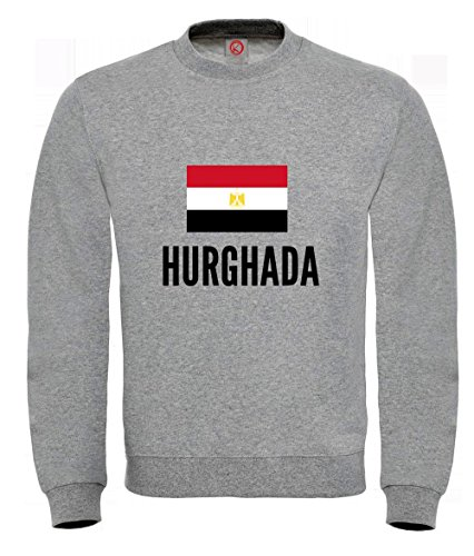 Produktbild Sweatshirt Hurghada city Gray