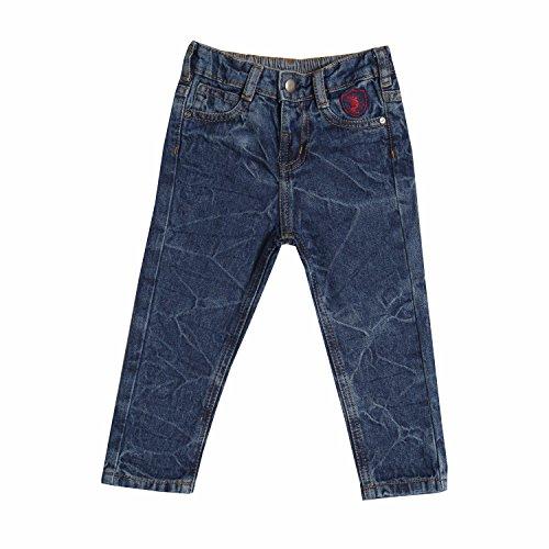 Tales & Stories Baby Boys Plain Slim Fit Jeans