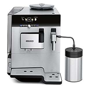 Siemens TE809501DE Kaffeevollautomat EQ.8 series 900 (Cappuccinatore) Edelstahlfront und -gehäuse