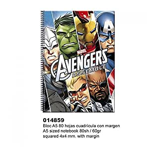 Montichelvo - Avengers cahier à spirale A5 High Level