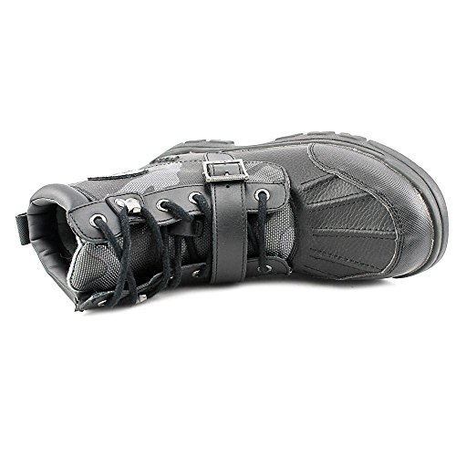 Polo Ralph Lauren Colbey Boot Rund Leder Stiefel Black/Black Camo