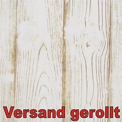 Klebefolie 200x45cm Holz Eiche weiss Dekofolie Selbstklebefolie Möbelfolie