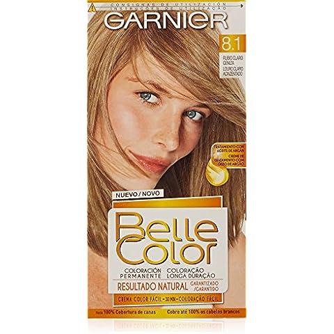 Garnier Belle Color - 8.1 Rubio Claro Ceniza - Coloración permanente - 1 pack