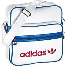 Adidas W68804 Adicolor Sir - Bolsa bandolera (28 x 11 x 30 cm, 8,3 litros), color blanco