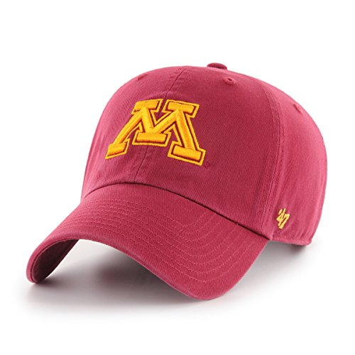 47 Brand NCAA Minnesota Golden Gophers Verstellbarer Mütze, Einheitsgröße, Kardinal - Kardinäle Damen-accessoires