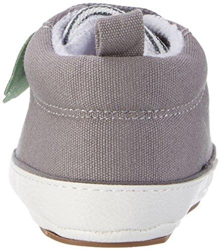 Sterntaler Baby-schuh, Chaussons pour enfant bébé garçon Grau (Steingrau)