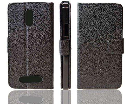 caseroxx Hülle/Tasche Bookstyle-Case Archos 45 Neon Handy-Tasche, Wallet-Case Klapptasche in schwarz