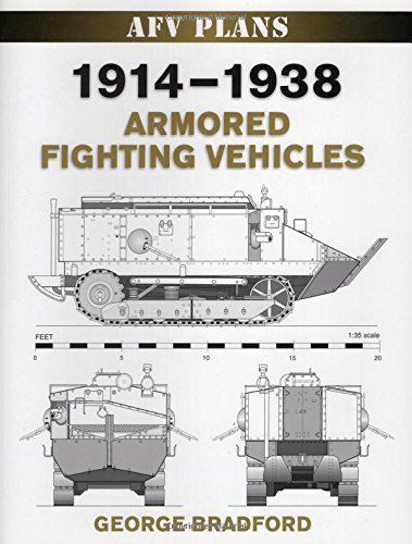 1914-1938 Armored Fighting Vehicles (Afv Plans)