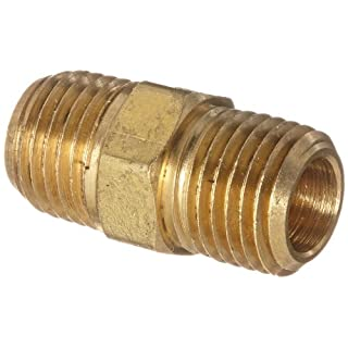 Anderson Metals Corp Inc 56122-04 Brass Hex Nipple