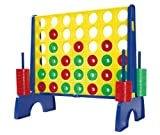 Simba Games & More - Juego 4 en raya, color rojo / amarillo / azul 6109329