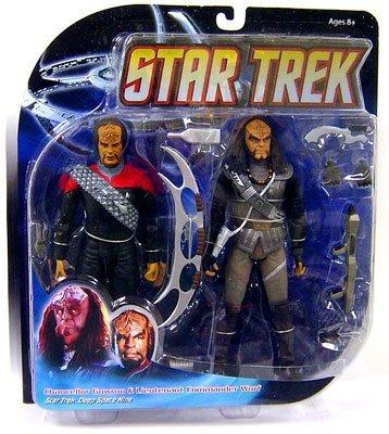 (Star Trek Deep Space Nine - Chancellor Gowron & Lieutenant Commander Worf)