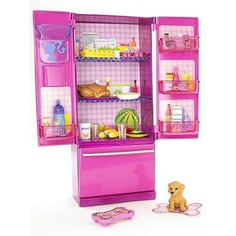 Mattel N4898 - la vida de Barbie, nevera accesorio para el hogar