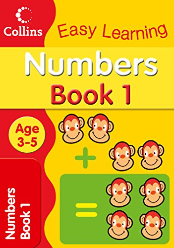 Numbers Age 3–5: Book 1 (Collins Easy Learning Age 3-5)