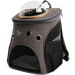 bolsos para perros Mochila para mascotas Gato para perros Portabicicletas de seguridad para mascotas Transporte exterior transpirable Bolsas portátiles para gatos Bolsas para portador de mascotas Cápsula espacial , 4