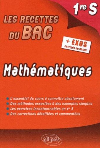Mathematiques Première S
