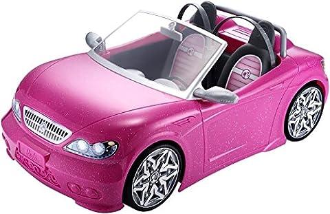 Barbie – Glam Convertible – Cabriolet Glamour – Poupée non incluse