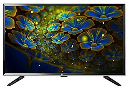Micromax 81 cm (32 inches) 32T7260HDI HD Ready LED TV Black) with Tata Sky HD Set Top Box with 1 Month Dhamaal Mix HD Free and 1 Year Onsite Warranty
