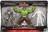 """Marvel Avengers Marvel Legends Avengers Infinite Series 1 Ultron, Hulk & Marvel's Vision 6"""" Action Figure 3-Pack"""