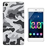 003597 - Grey Camo Camouflage Design Wiko Fever special