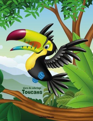 Livre de coloriage Toucans 1 par Nick Snels