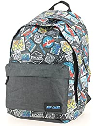 Sac à dos Rip Curl Woven Double Dome Multico gris jJybVR1OwU