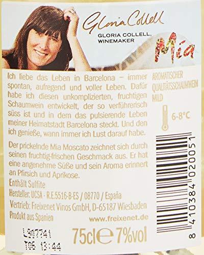 Freixenet Mia Moscato 0,75 l Sekt, (6 x 0.75 l)