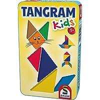Schmidt Spiele Tangram Kids 7pieza(s) - Rompecabezas (Rompecabezas de Figuras, Fantasía, Niños, Niño/niña, 5 año(s), Madera)