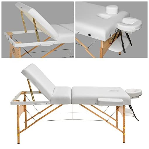 Tectake Lettino Massaggio.Tectake Lettino Massaggi 10cm Imbottitura Estetista