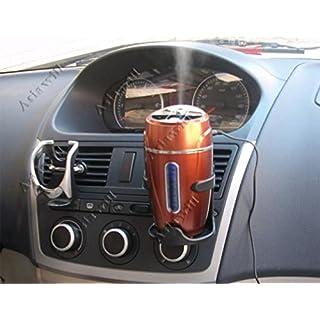 asiawill Luftbefeuchter Luftreiniger Lufterfrischer Tasse halt USB Feucht Ultraschall Auto Home Office Mehrfarbig zufällige