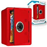 GreatGadgets 1581-2 Coin Bank Mini-Vault Rosso