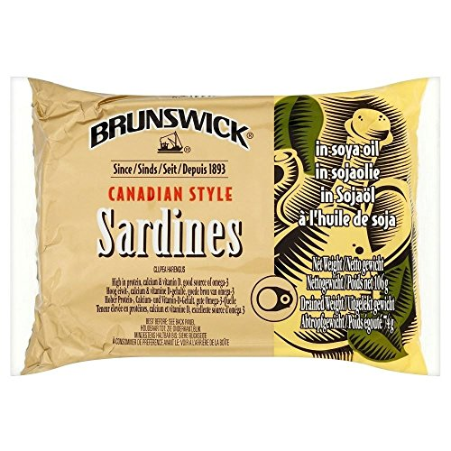 Brunswick Canadian Style Sardinen In Sojal 106 G Packung Mit 2