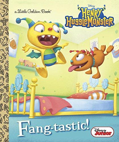 Fang-Tastic! (Disney Junior: Henry Hugglemonster) (Little Golden Book) por Andrea Posner-Sanchez