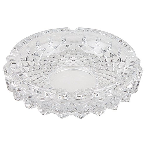 Crystal Quality Glass Ash Tray by Favola - AT005